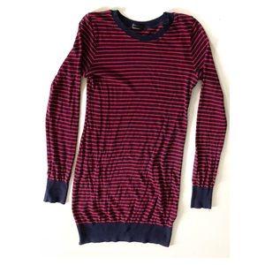 American Apparel Striped Sweater Bodycon Dress